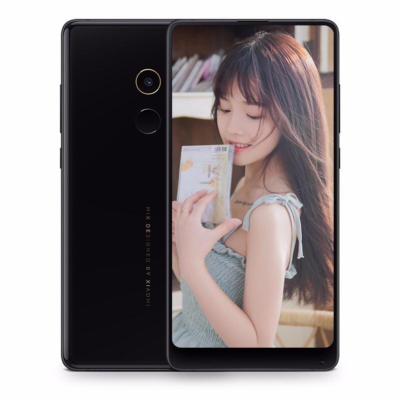 【二手9成新】小米MIX2 陶瓷機身全面屏游戲手機  二手安卓手機 陶瓷黑 6G+64G 全網通