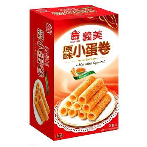 義美 原味小蛋卷(114g/盒)[大買家]