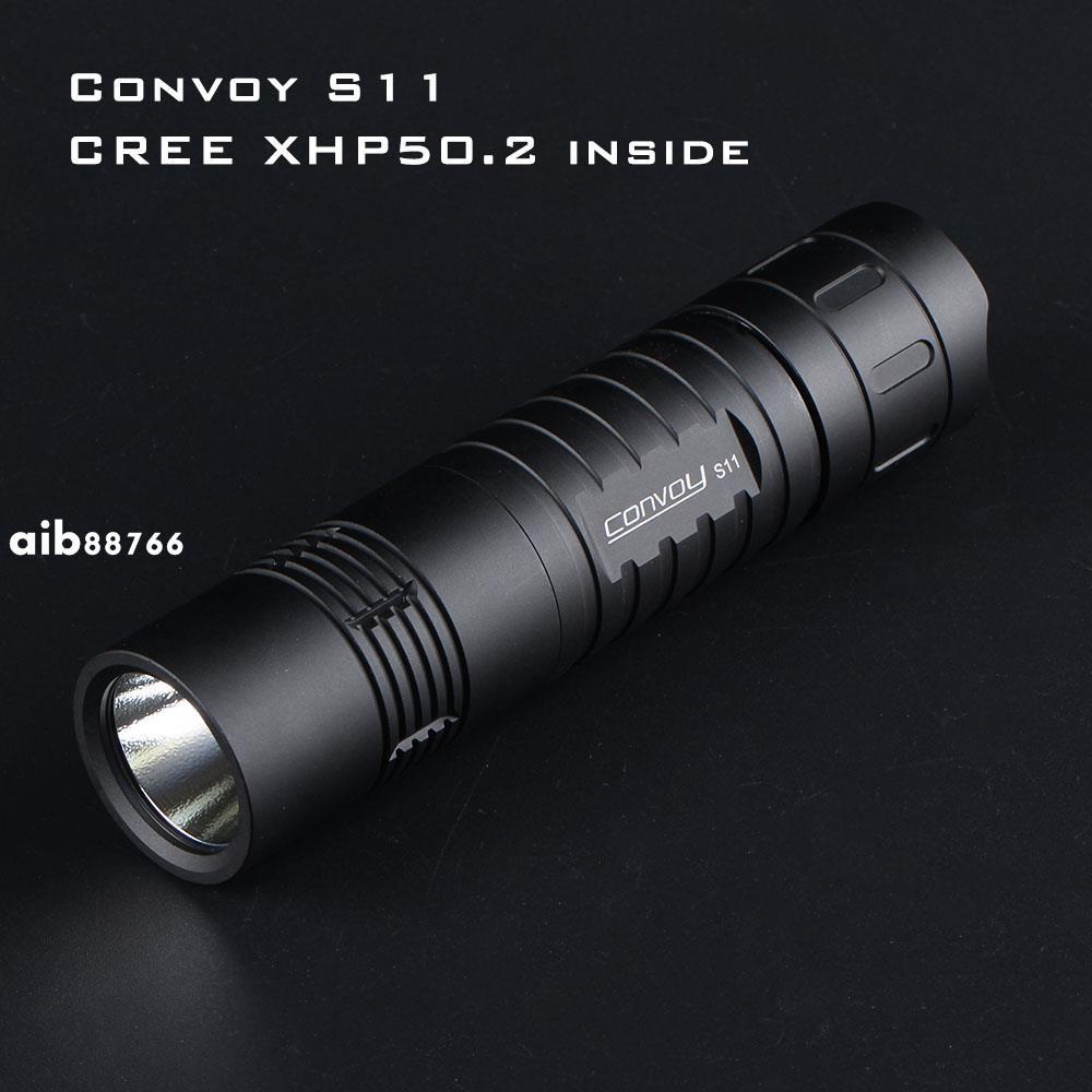 Convoy S11手電筒 CREE XHP50.2 LED