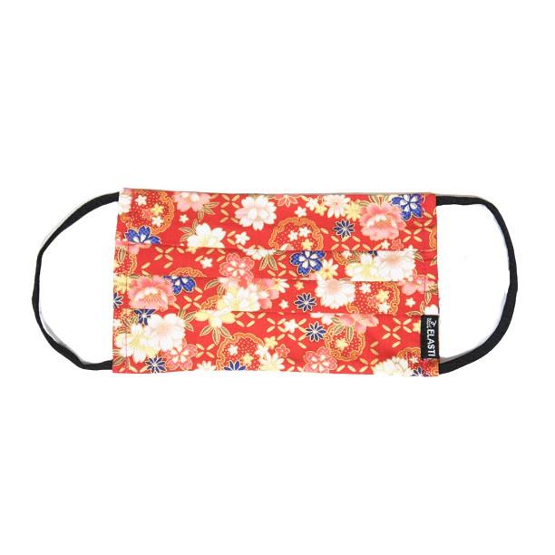 Elasti日式和風口罩-十里桃花(買口罩送10片拋棄式濾片)