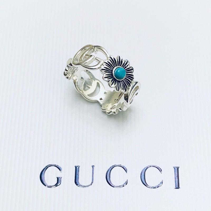 Gucci 新款銀戒