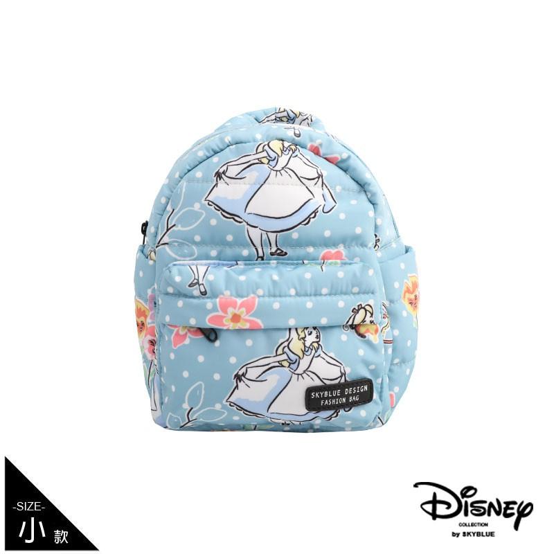 天藍小舖-迪士尼系列愛麗絲點點寶貝多功能後背包-A12121415