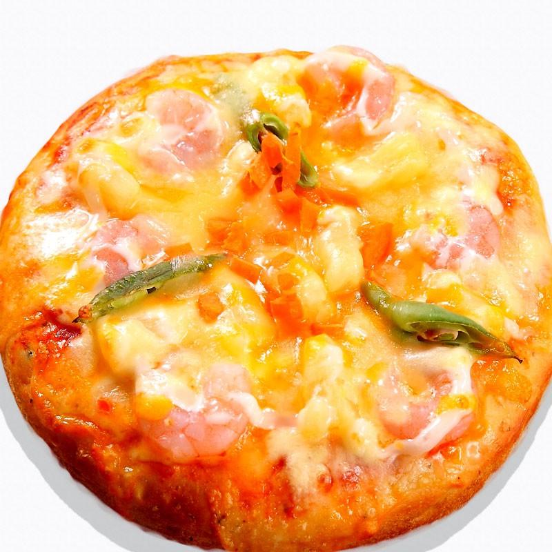 瑪莉屋口袋比薩pizza【主廚鳳梨蝦球批薩】薄皮/一入