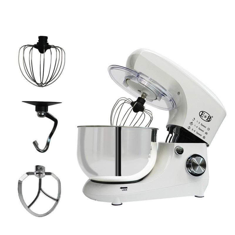 【現貨】烘焙王3代2020年新款機廚師 EB-1702機攪拌機 5L大容量和麵機揉麵機 110V白色
