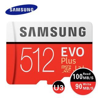 三星 Evo Plus 512gb 256gb 存儲卡 128gb U3 4k Micro Sd 卡 64gb 32gb