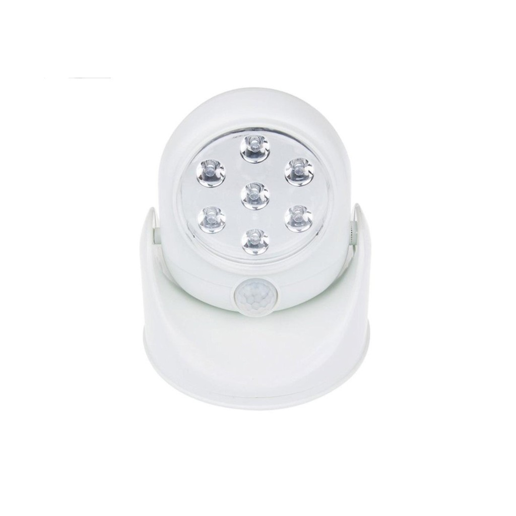 升級版人體感應燈 360度自動感應旋轉迷你LED感應燈 車庫燈自動感應人體DIAL INTERNATIONAL