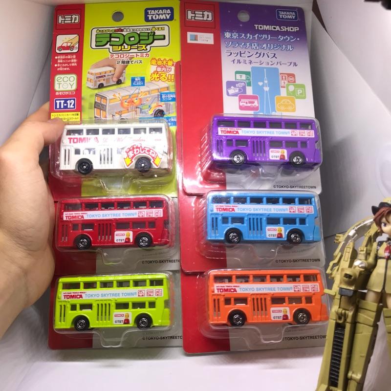(姆仔fun玩具)一套6色 tomica 多美小汽車 多美車 絕版 發光車 巴士 貨車 遊覽車 東京限定 2013絕版品