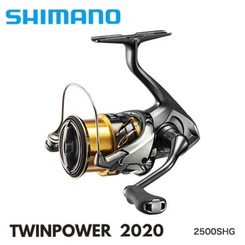 【馨馨路亞釣具】SHIMANO TWIN POWER 2020款紡車捲線器 泛用 海水捲 岸拋船拋