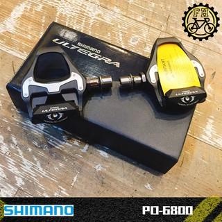 【小萬】全新盒裝 SHIMANO PD-6800 ULTEGRA 卡踏 碳纖 卡式踏板 公路車 附6度鞋底版 公司貨 臺中市