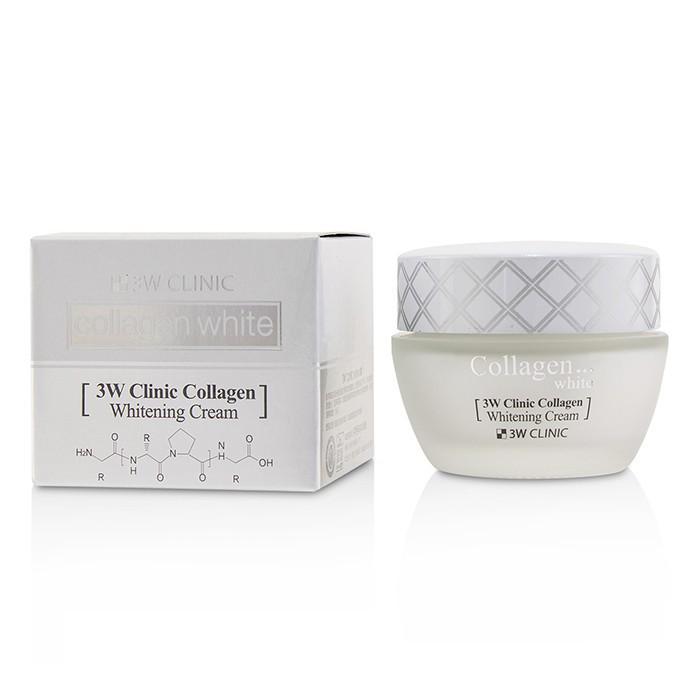 3W CLINIC - 膠原蛋白嫩白精華霜Collagen White Whitening Cream