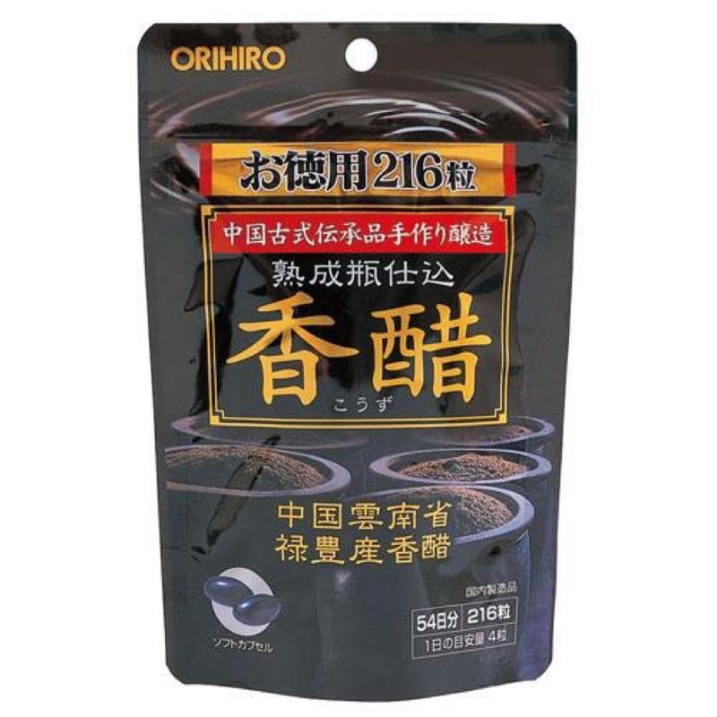 日本ORIHIRO香醋錠(216粒)