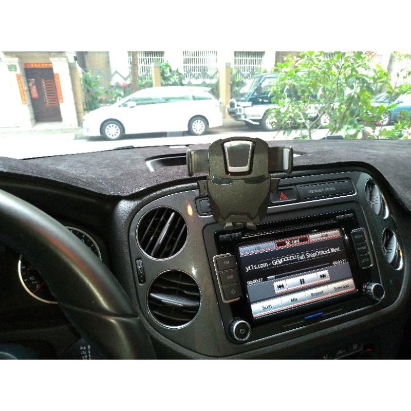 Tiguan彈夾加強版手機架Allspace手機座手機夾手機支架Golf Plus Sportsvan
