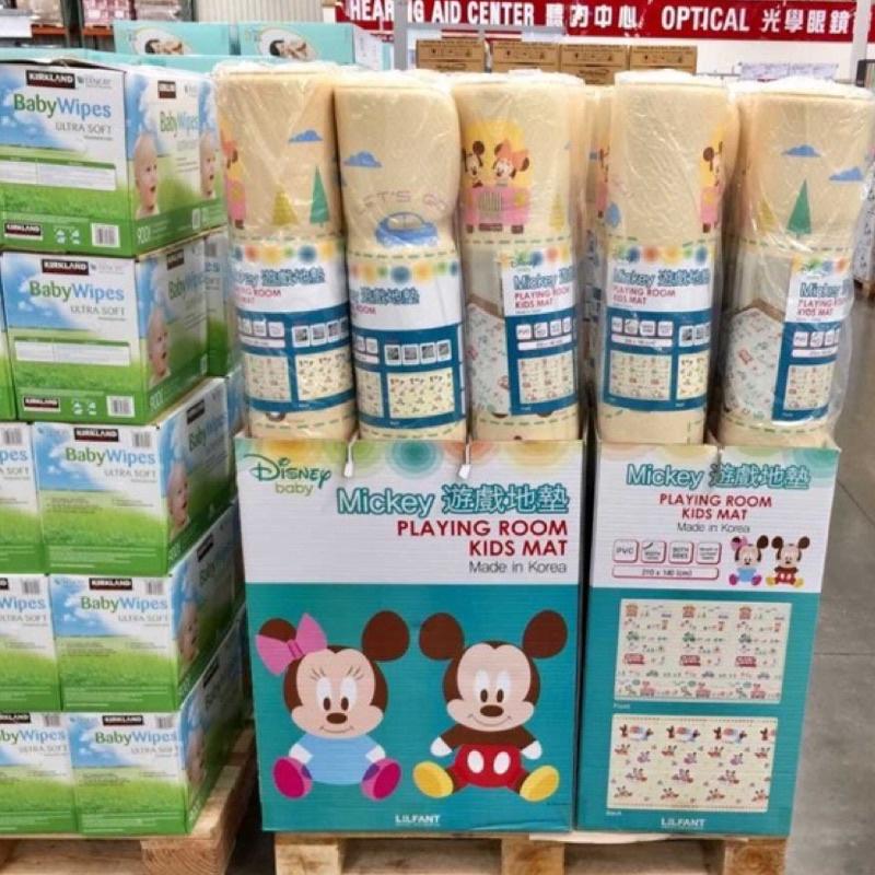 Costco 好市多 Disney 迪士尼 雙面 遊戲地墊 寶寶爬行墊