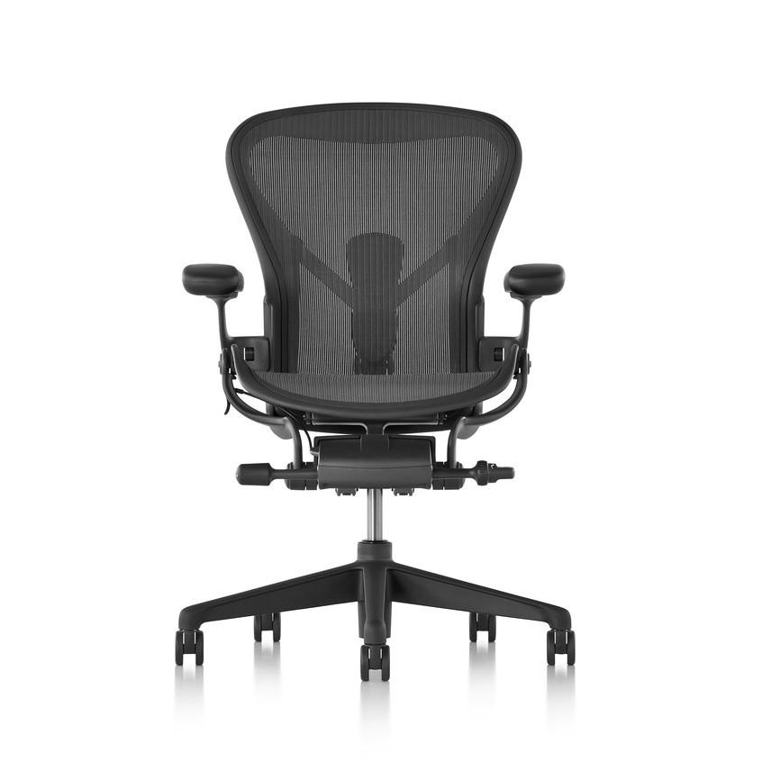 【美國進口】Herman Miller Aeron 2.0版 全功能 4D扶手 帶前傾 二代人體工學椅 辦公椅 電腦椅