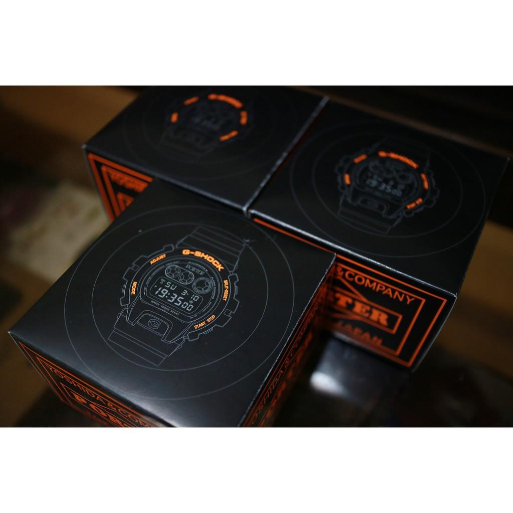 Porter X G-Shock Casio DW-6900專櫃購入 限量 手錶 橘黑配色