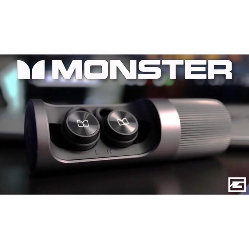 《現貨》Monster Clarity 101 Airlinks 運動藍芽耳機 黑色款