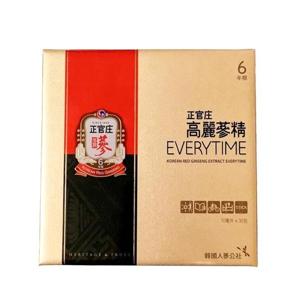 正官庄 高麗蔘精EVERYTIME 30包/盒(附紙袋)