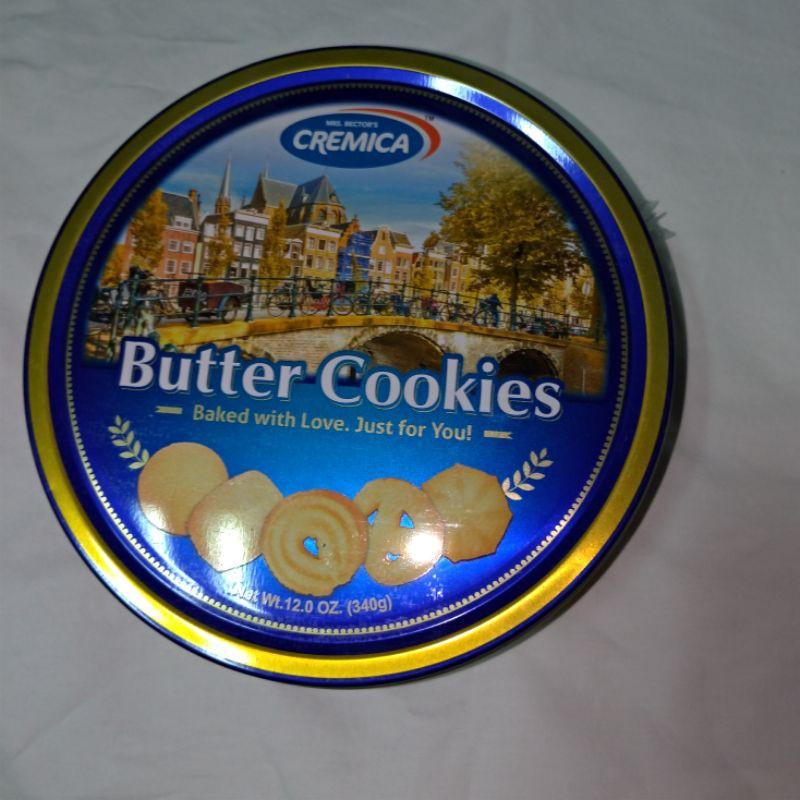 印度 CREMICA 奶油風味餅乾罐 340g