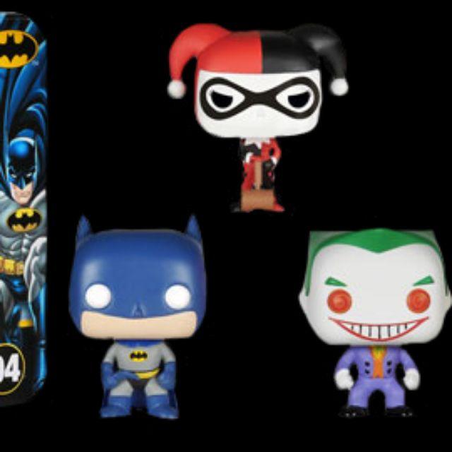 柴寶趣 預約 FUNKO POP mini 3pack 蝙蝠俠 小丑 小丑女 pocket batman 澳洲空運 正版