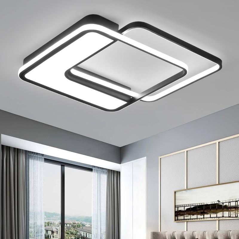 臥室燈簡約現代北歐吸頂燈個性創意書房大氣家用客廳燈具燈飾