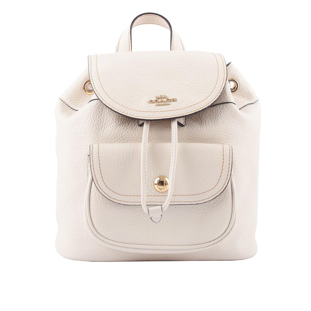 COACH Pennie 新款口袋後背包(白色) C4121 IMCHK