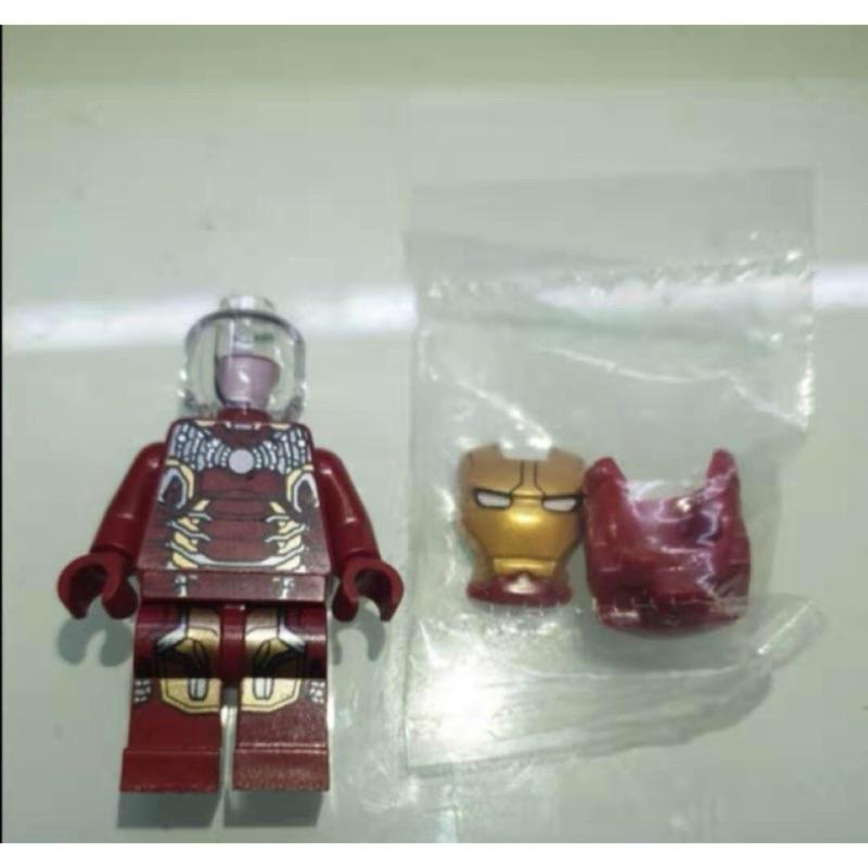 樂高 LEGO 76105 mk43 鋼鐵人 全新 原封頭盔