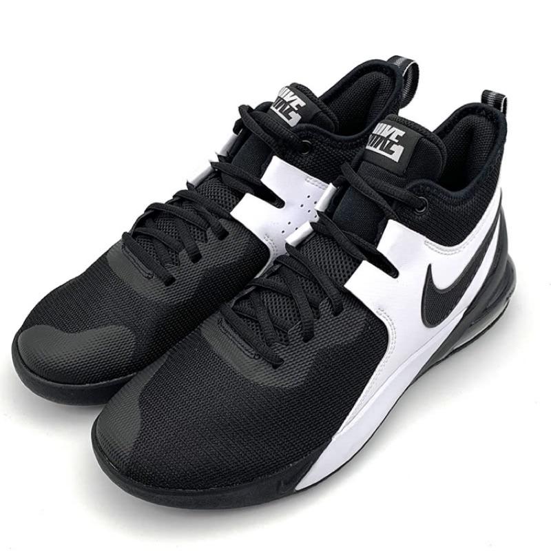 [Nike] 男款運動氣墊籃球鞋 黑色 CI1396004《曼哈頓運動休閒館》