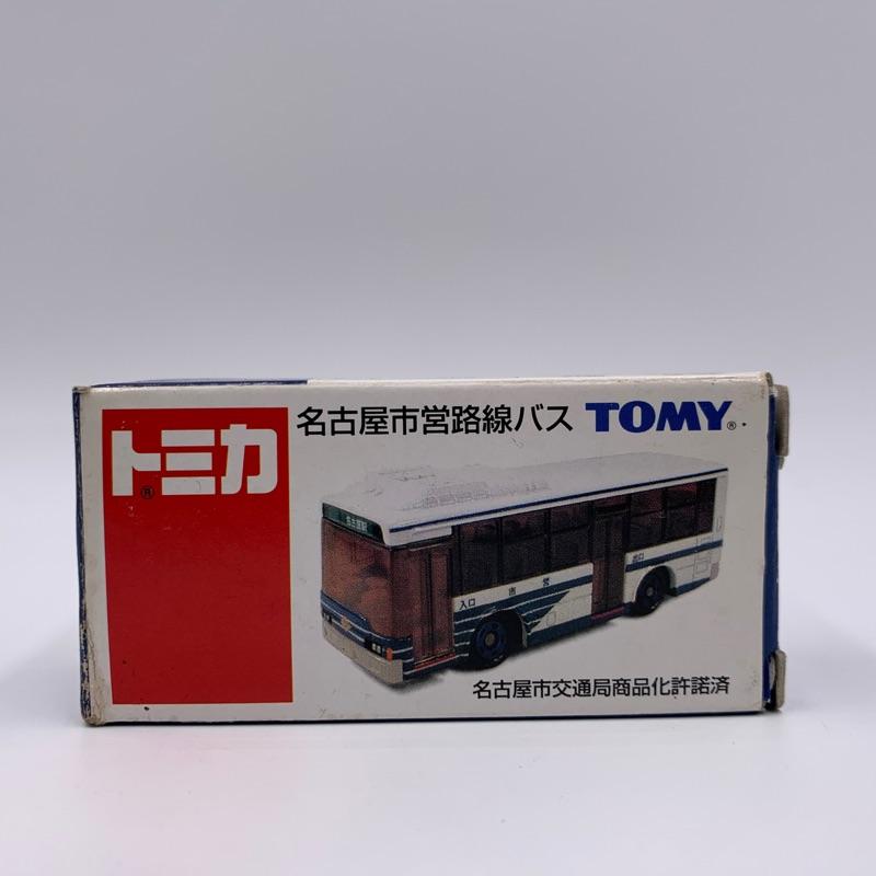 Tomica 特注 名古屋市營巴士 75週年 舊藍標