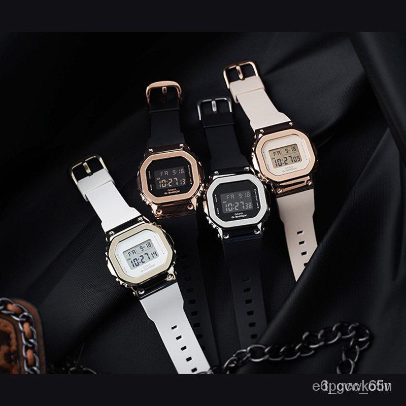 新品速遞新款卡西歐手錶G-SHOCK GM-S5600PG-1/G-7/4/5600B-1/3電子運動男腕錶 htXC