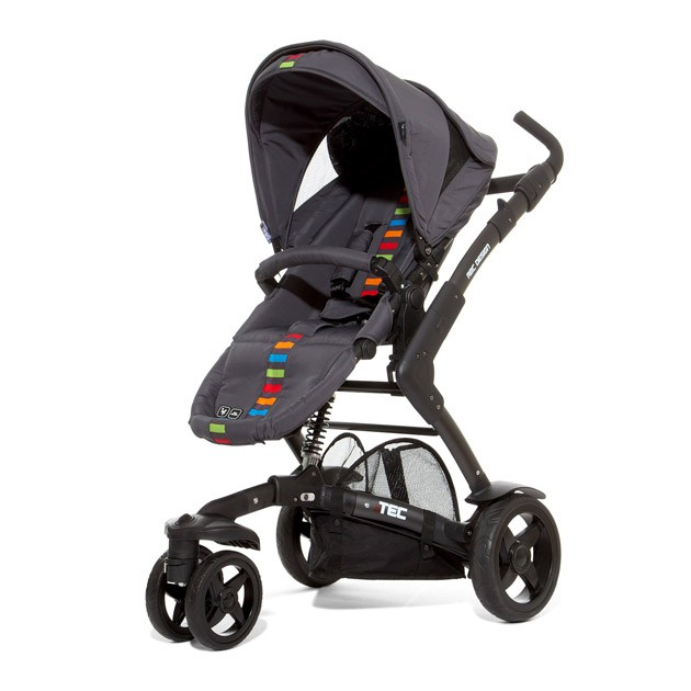 ABC Design 3Tec 嬰兒手推車-繽紛款 Multicolor【福利品】