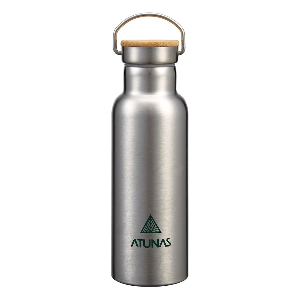 【ATUNAS 歐都納】不鏽鋼運動真空保溫瓶500ML (A1KTBB06N 食品級304/寬口/雙層真空/提環)