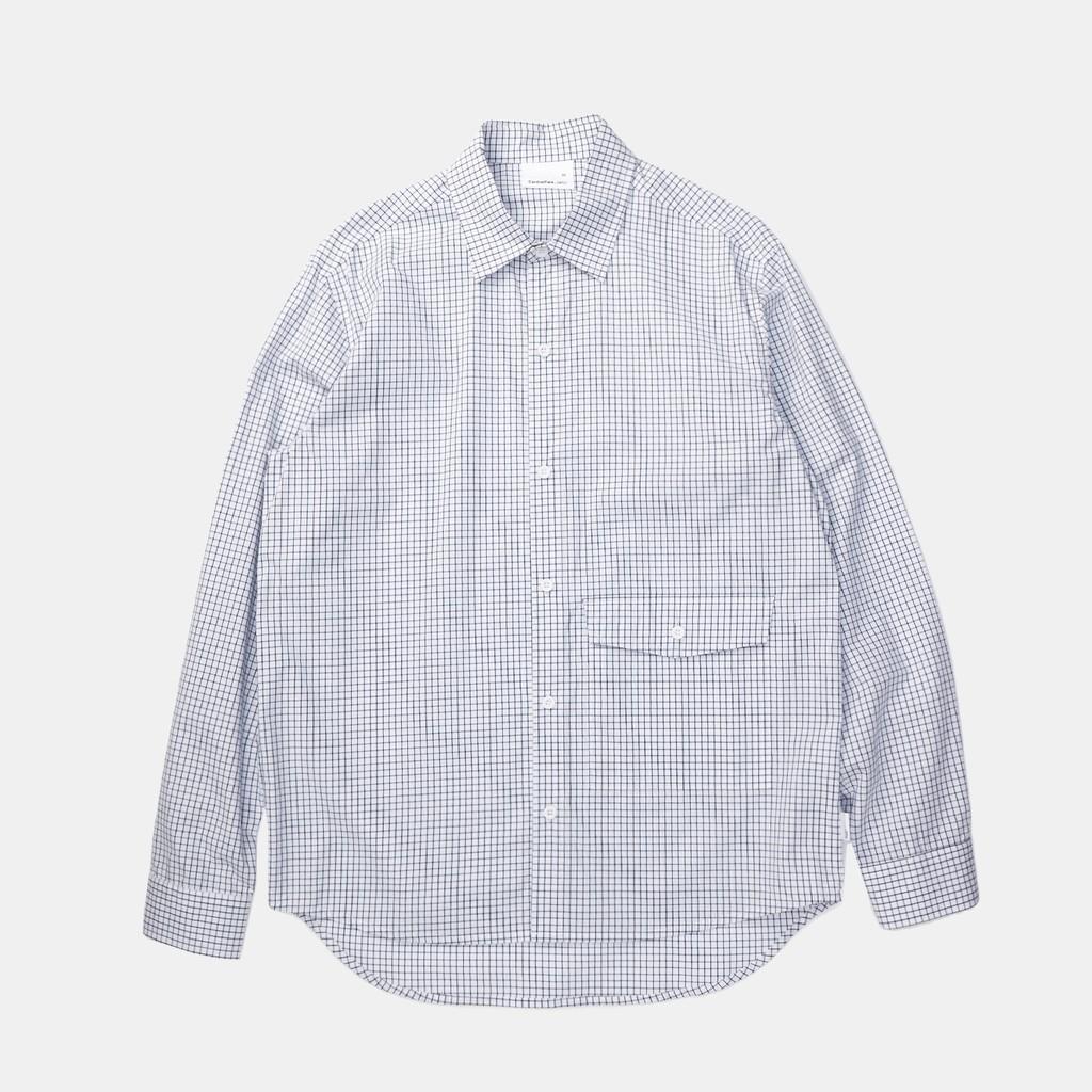 [CentralPark.4PM] Digital S-Pocket Shirt長袖 襯衫 棉/現貨 (NEXHYPE)