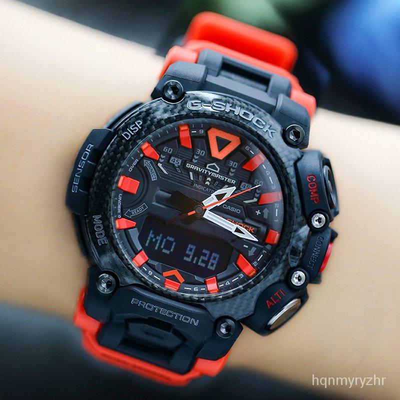 卡西歐G-SHOCK GR-B200-1A9/1A2/1A/1A9PR航空登山男士腕手錶