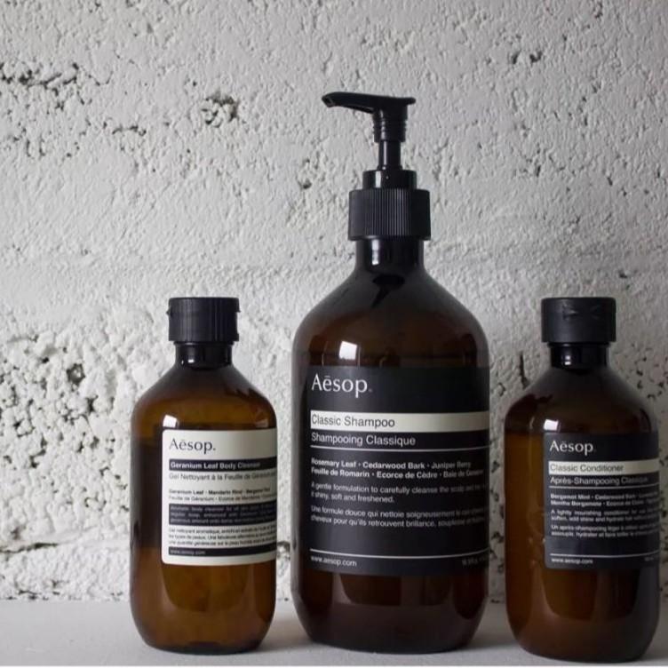 【H2Shop】Aēsop 伊索 秀髮養護 經典洗髮露 均衡洗髮精 增量豐盈潤髮 Aesop 200ml 500ml