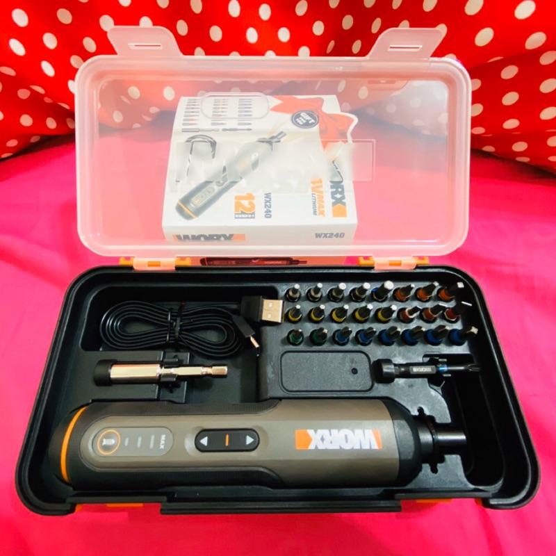 [扣辣五金] Worx 威克士 WX240 鋰電 起子機 附26件套組 Bosch Go iKea 組裝神器