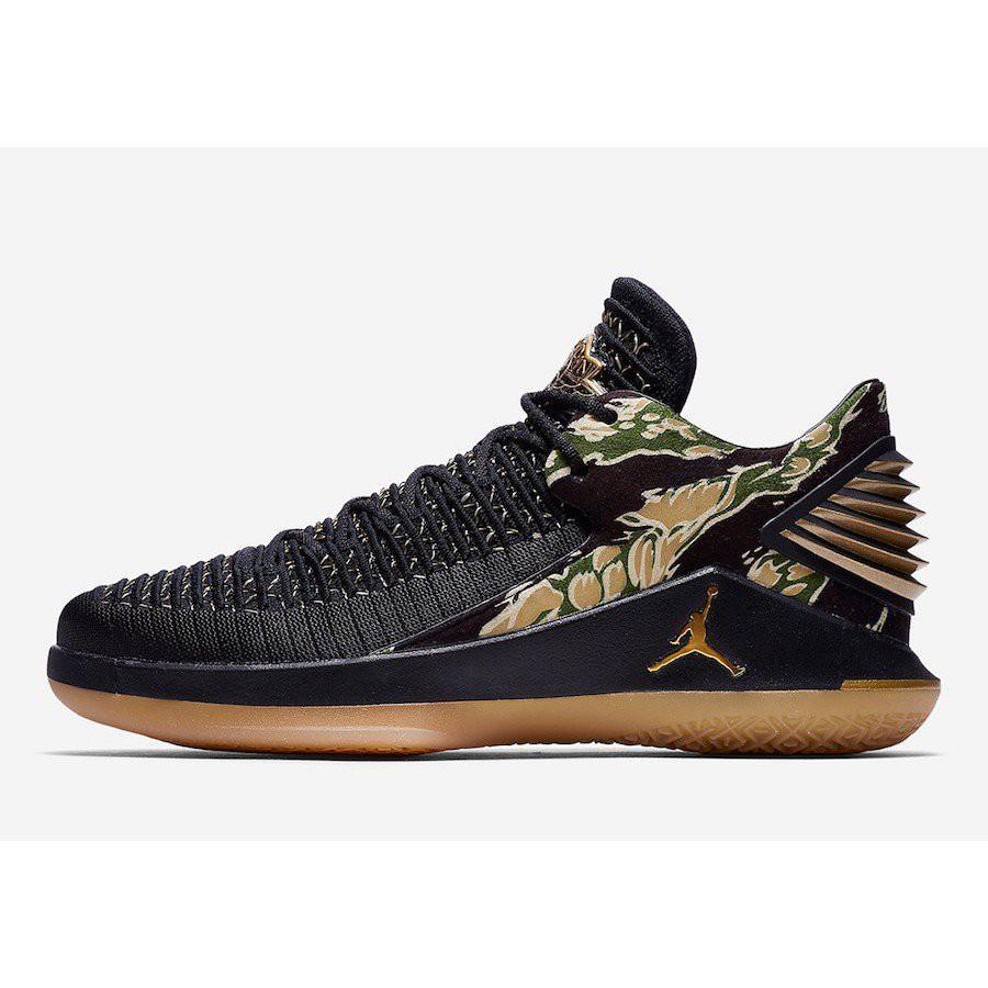 Air Jordan 32 Low Camo(AH3347-021)  籃球鞋