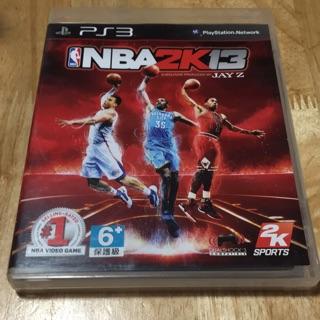 {胖}Ps3遊戲-【英】NBA 2K13 盒書完整/ / 賣編282 桃園市