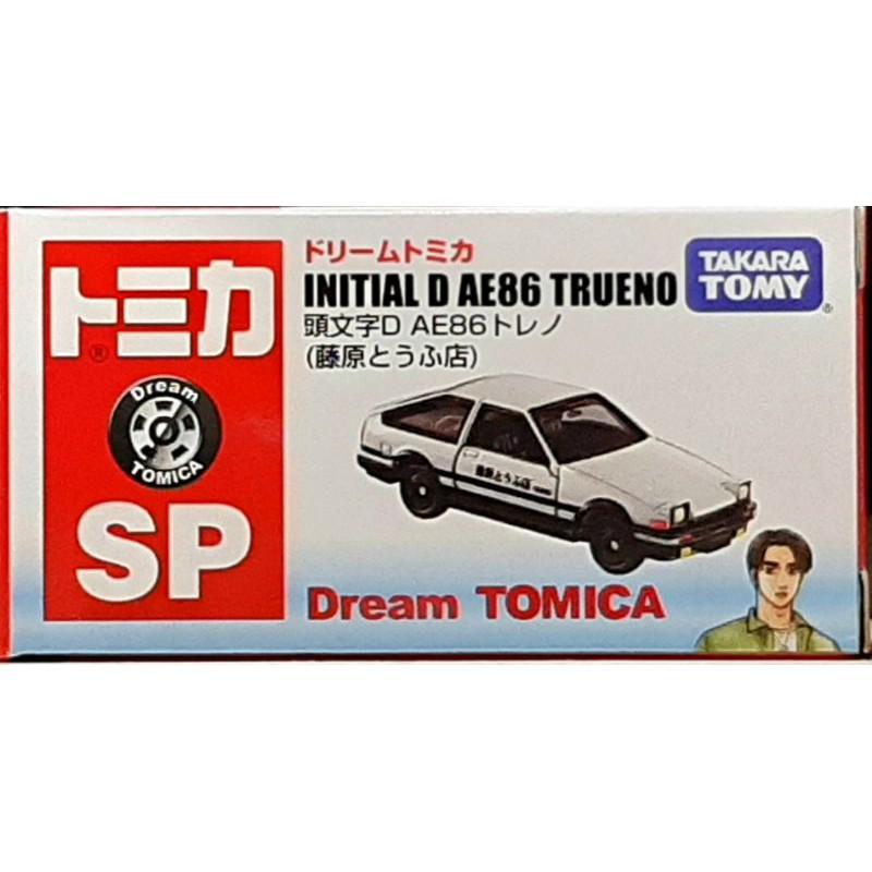 [已拆日版]Dream Tomica SP 頭文字D AE86 藤原豆腐店 白蓋