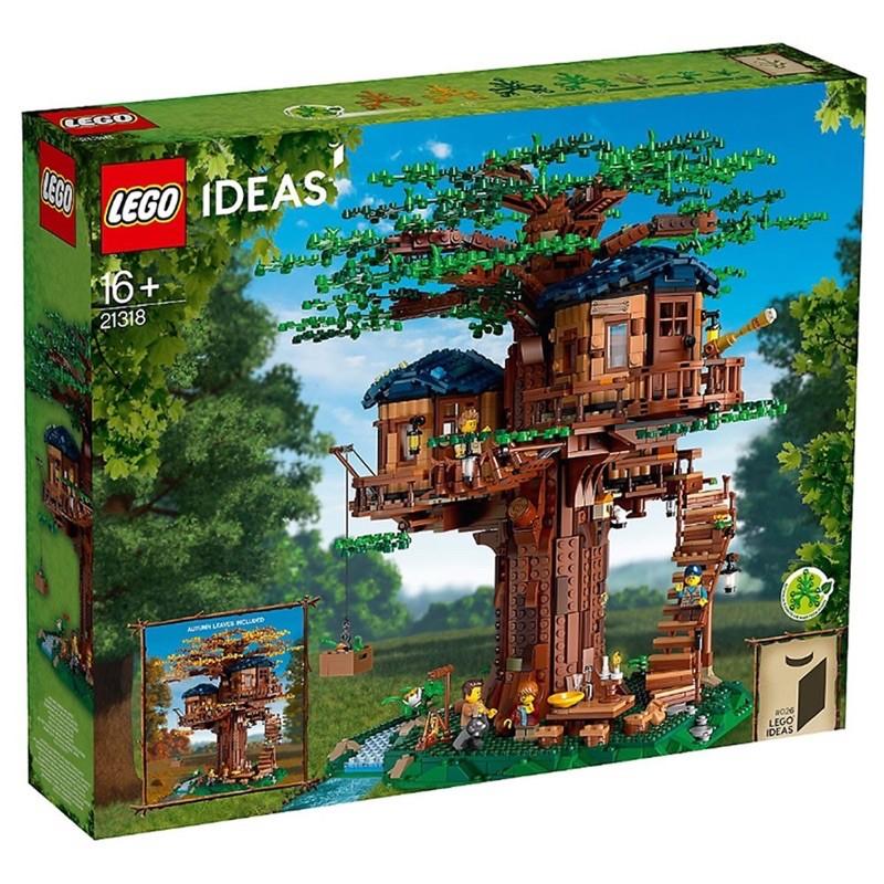 LEGO 樂高 21318絕版樹屋  僅此一組 全新無盒損 免運!!
