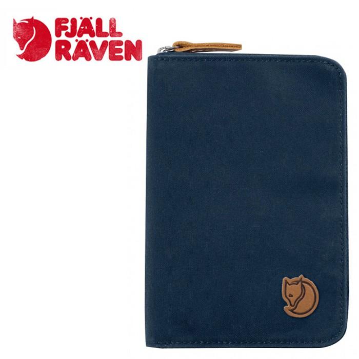 【Fjallraven小狐狸 瑞典】護照包 護照夾 零錢包 藍色 (24220-560)