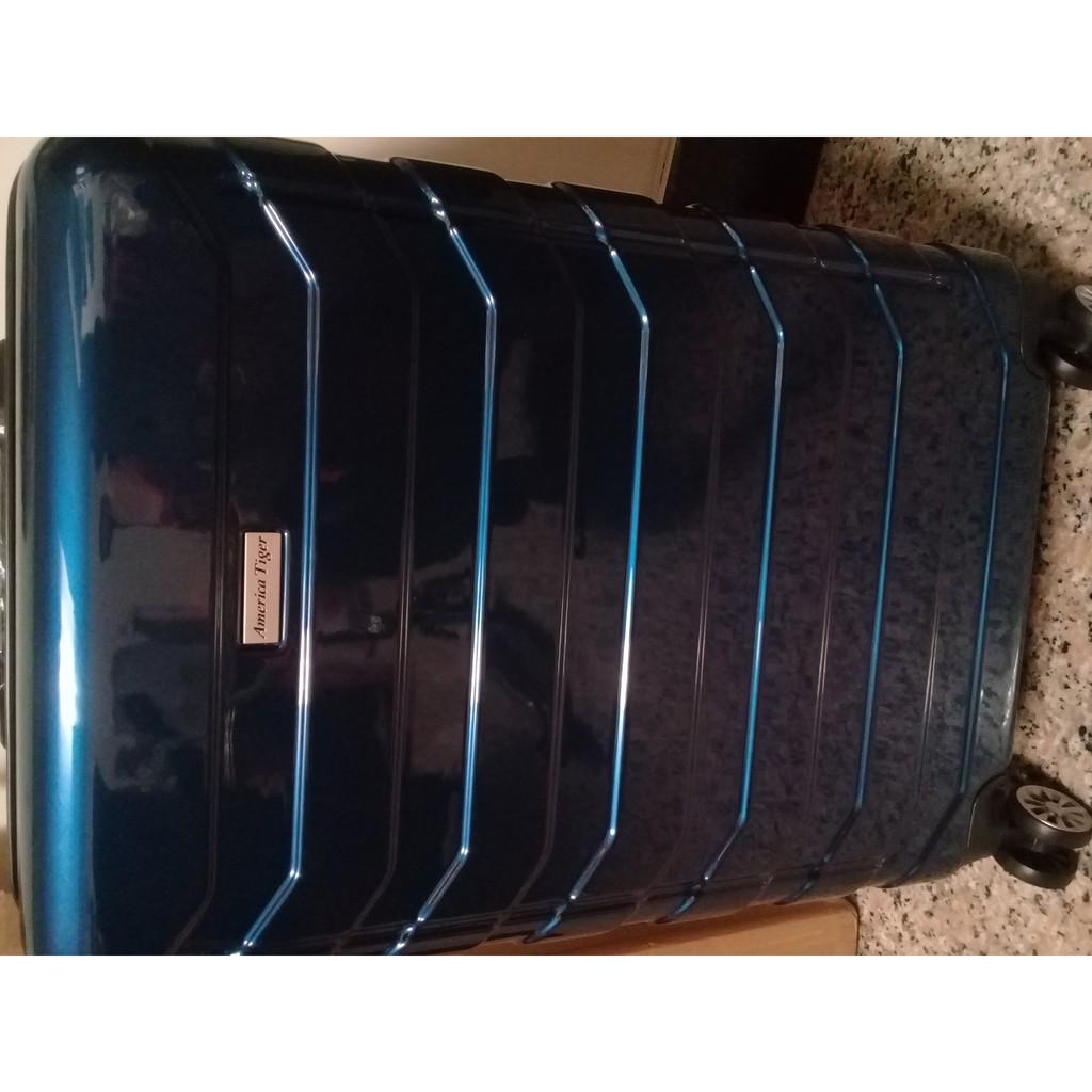America Tiger24吋幻彩藍行李箱