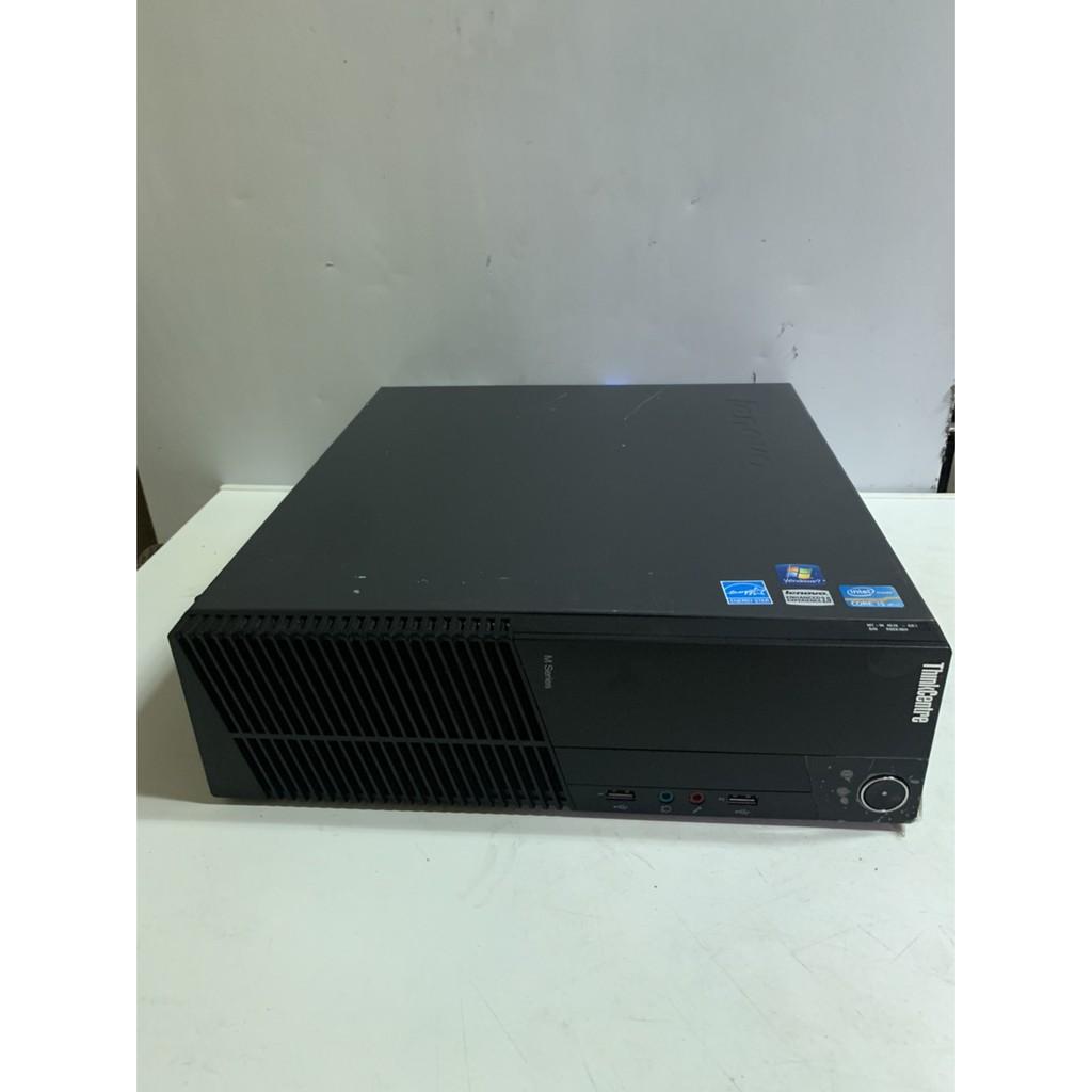 2代i5 聯想Lenovo M71E/M81 四核平躺式固態文書主機 i5 2400/8G/120SSD