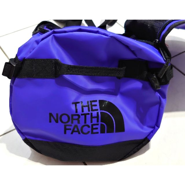 ### The North Face ### 北面 duffel 藍色 全新吊牌未拆 可面交
