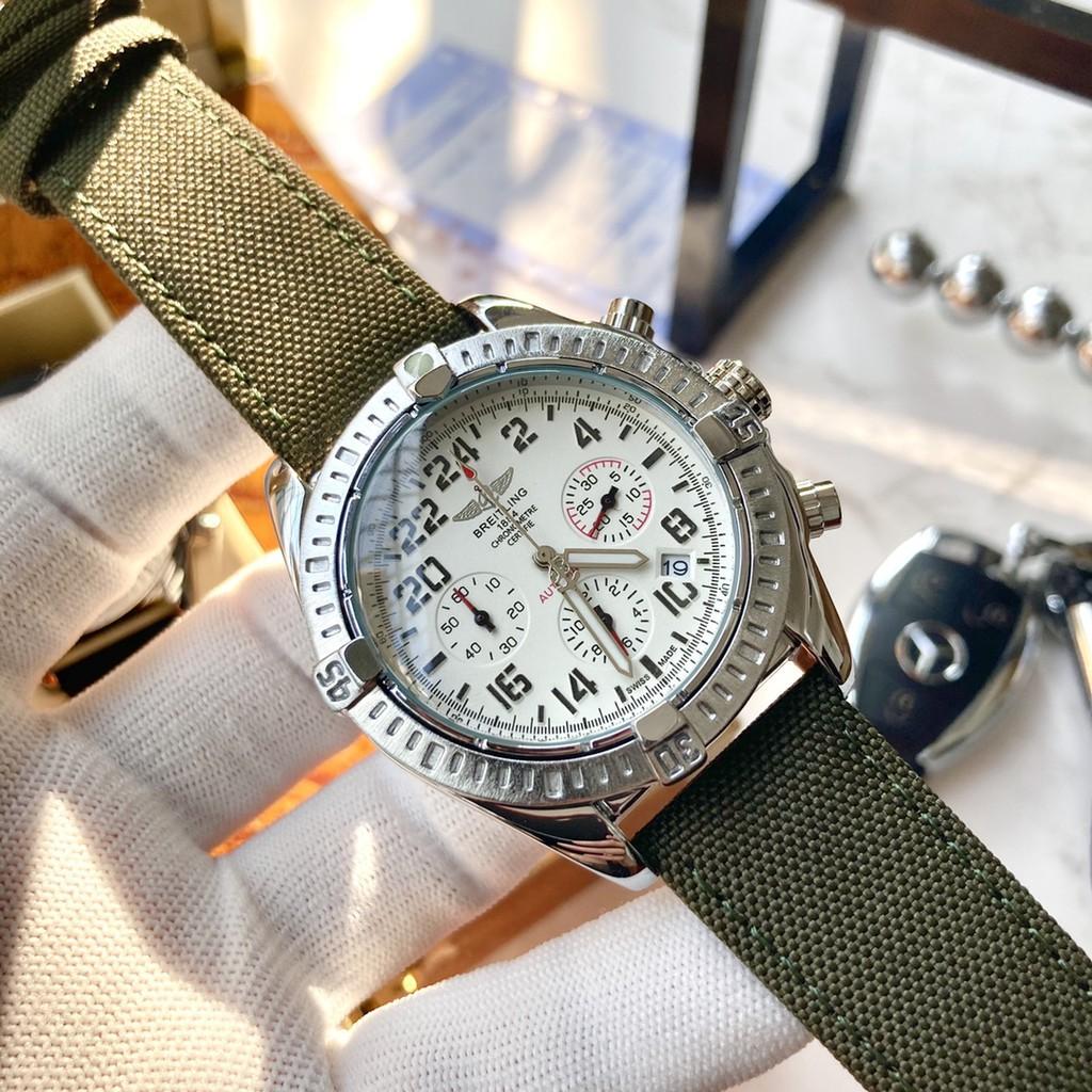 Breitling 百年靈  潮流手錶 商務手錶 石英手錶 機械手錶     表面尺寸42mm*12mm      為您