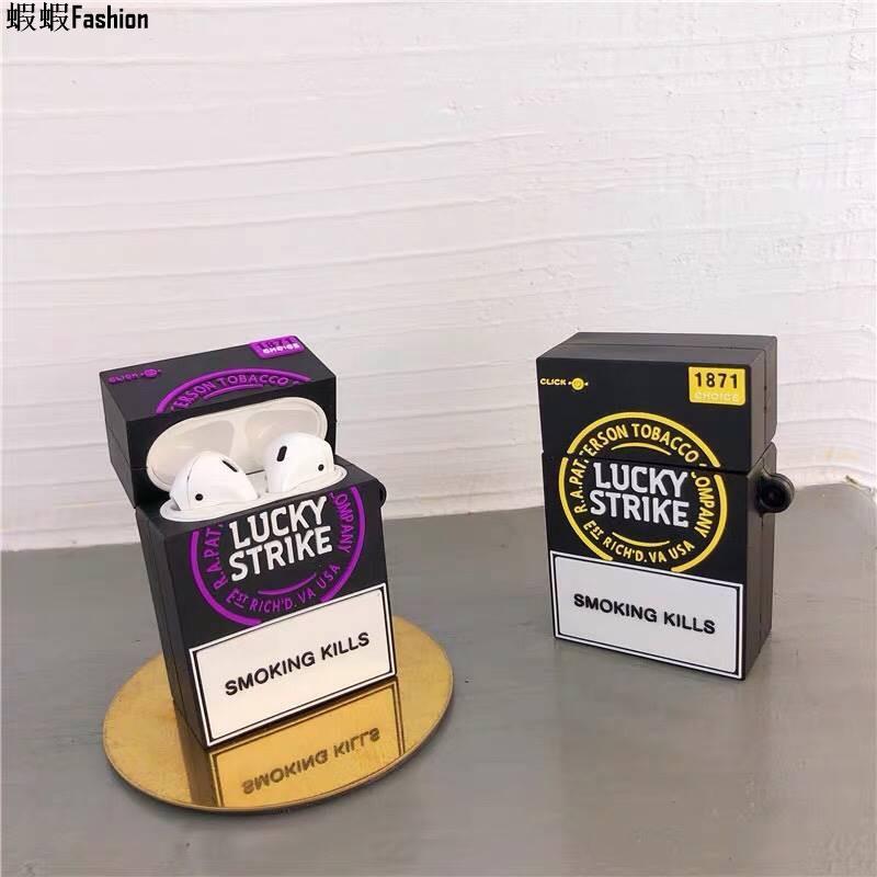 airpods耳機保護套<煙盒系列> 造型保護套 軟殼 矽膠殼 硬殼
