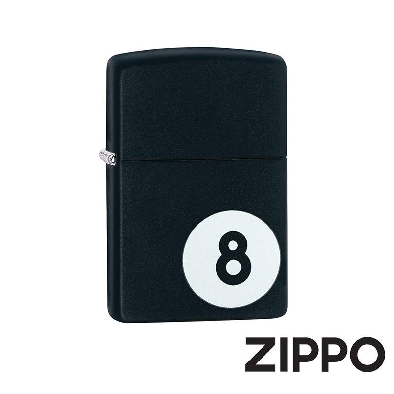 ZIPPO 8號台球防風打火機 美國設計 28432