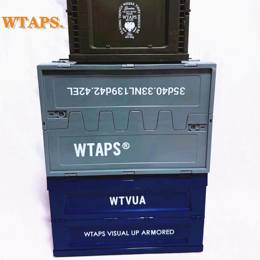 折疊箱收納箱 收納盒 居家收納 折疊收納箱 日式 潮 WTAPS潮牌折疊收納箱 軍事風機能儲物箱 車載家用衣服鞋子整理盒