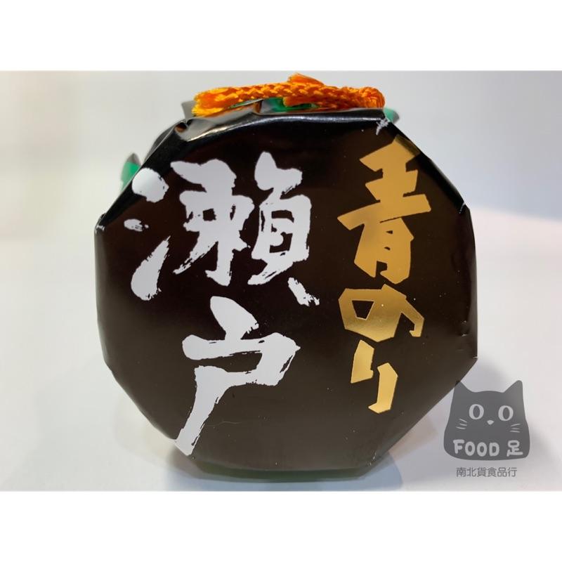 Food足南北貨 - 日本進口 瀨戶青海苔醬 玻璃罐裝 純素食可 110g