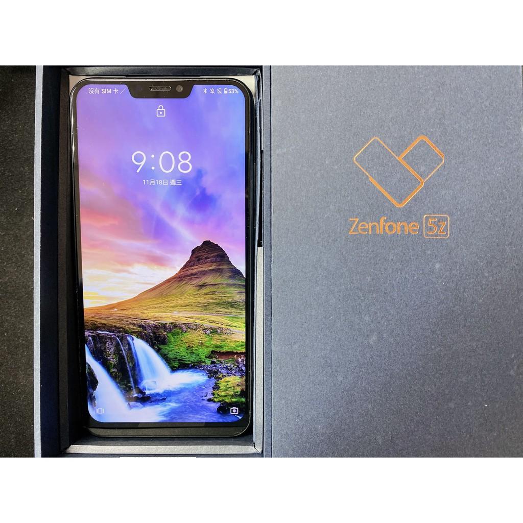 【直購價:5,500元】ASUS ZenFone 5Z ZS620K 藍色 (6GB/64GB) 8.5成新