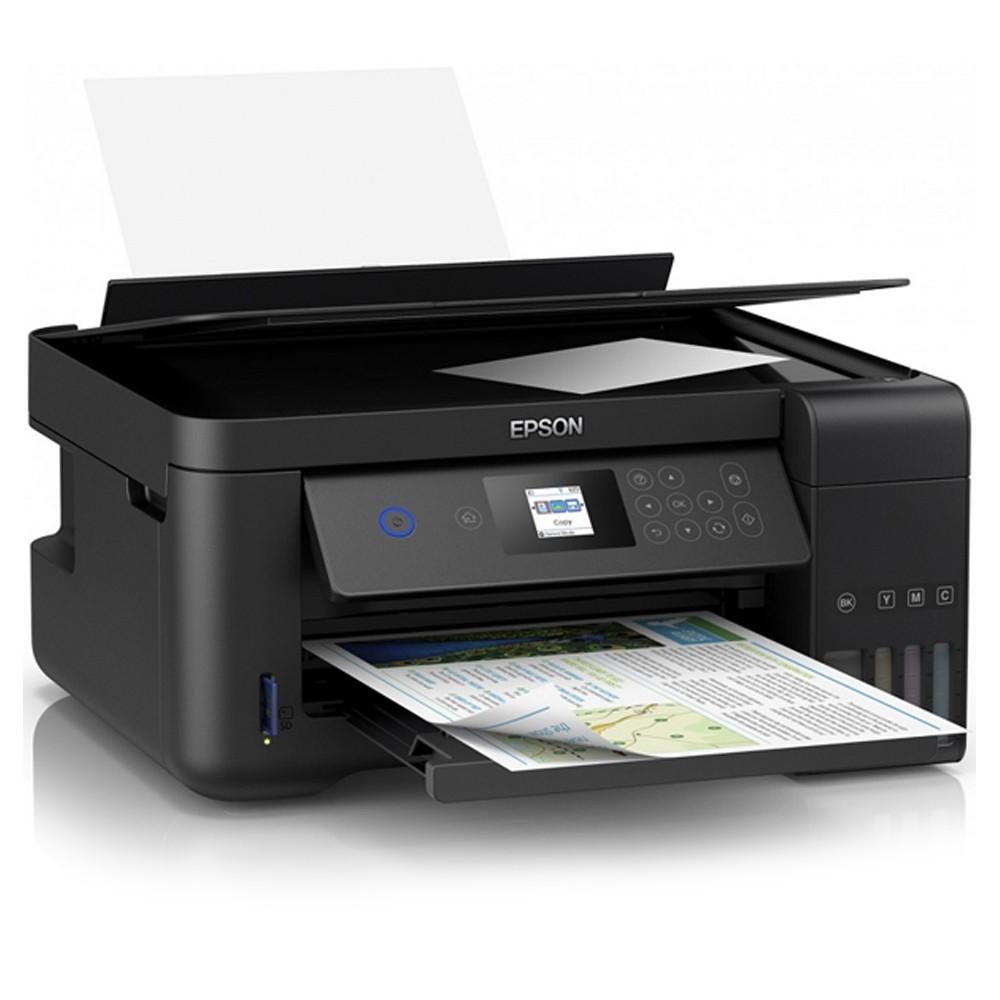 EPSON L4160 原廠連續供墨複合機 內含四瓶墨水 自動雙面列印/Wi-Fi/Wi-Fi Direct